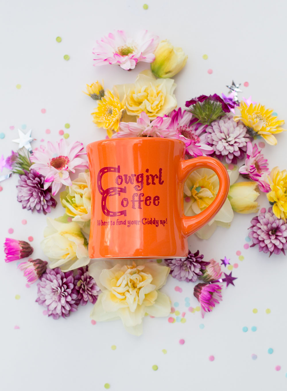 Orange Diner Coffee Mug