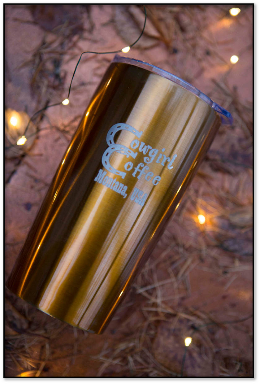 Orange Stainless Tumbler