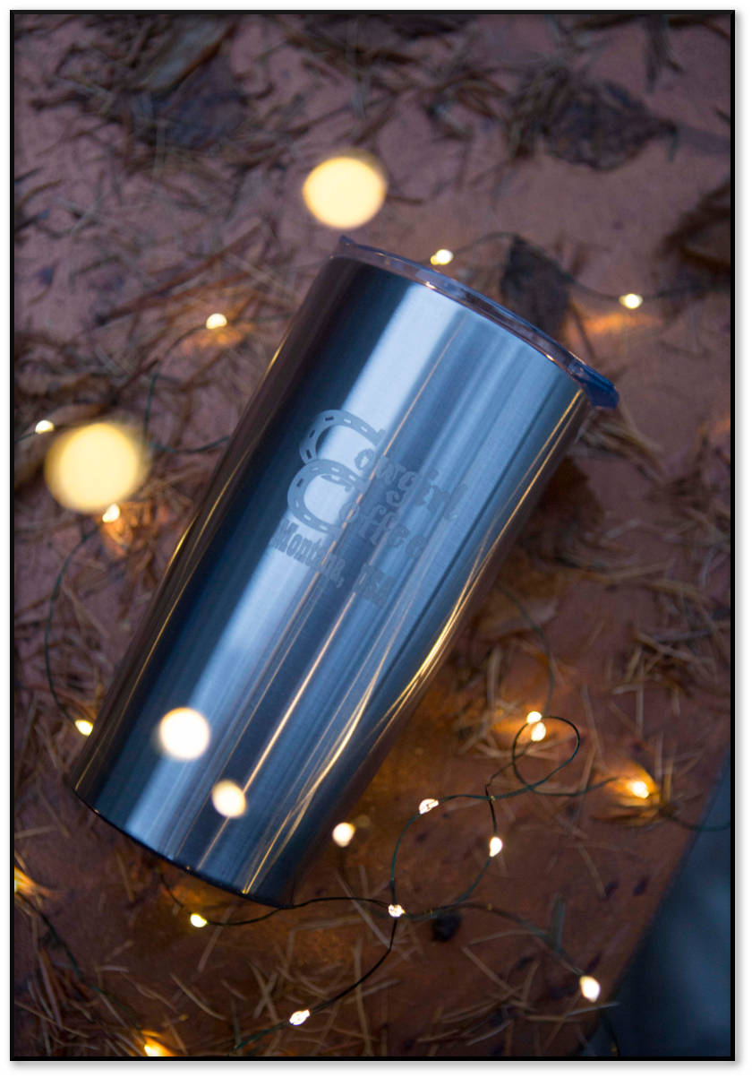 Silver Stainless Tumbler